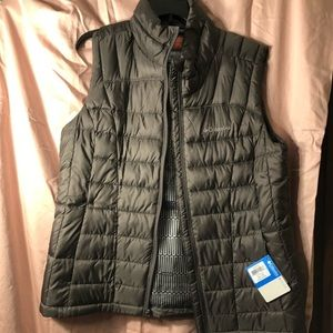 Columbia puffer Vest with thermal coil